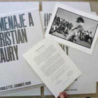 Homenaje a Christian Maury